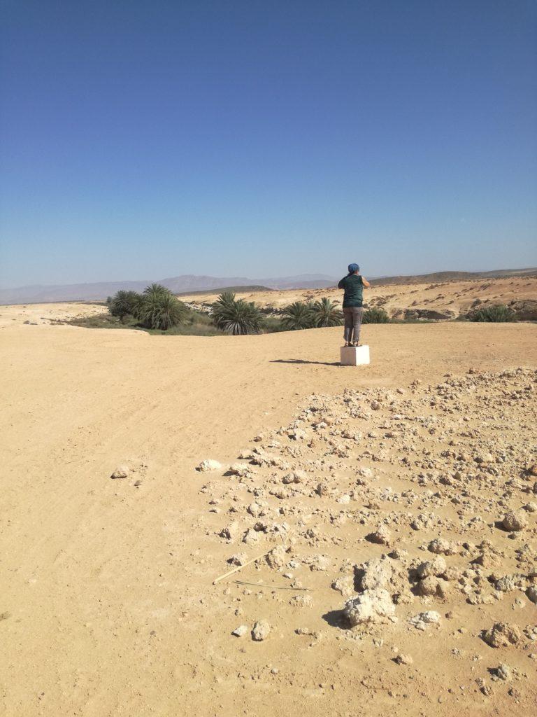 perdu dans le desert