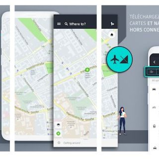 here wego application gps