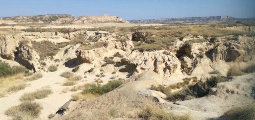desert Bardenas reales