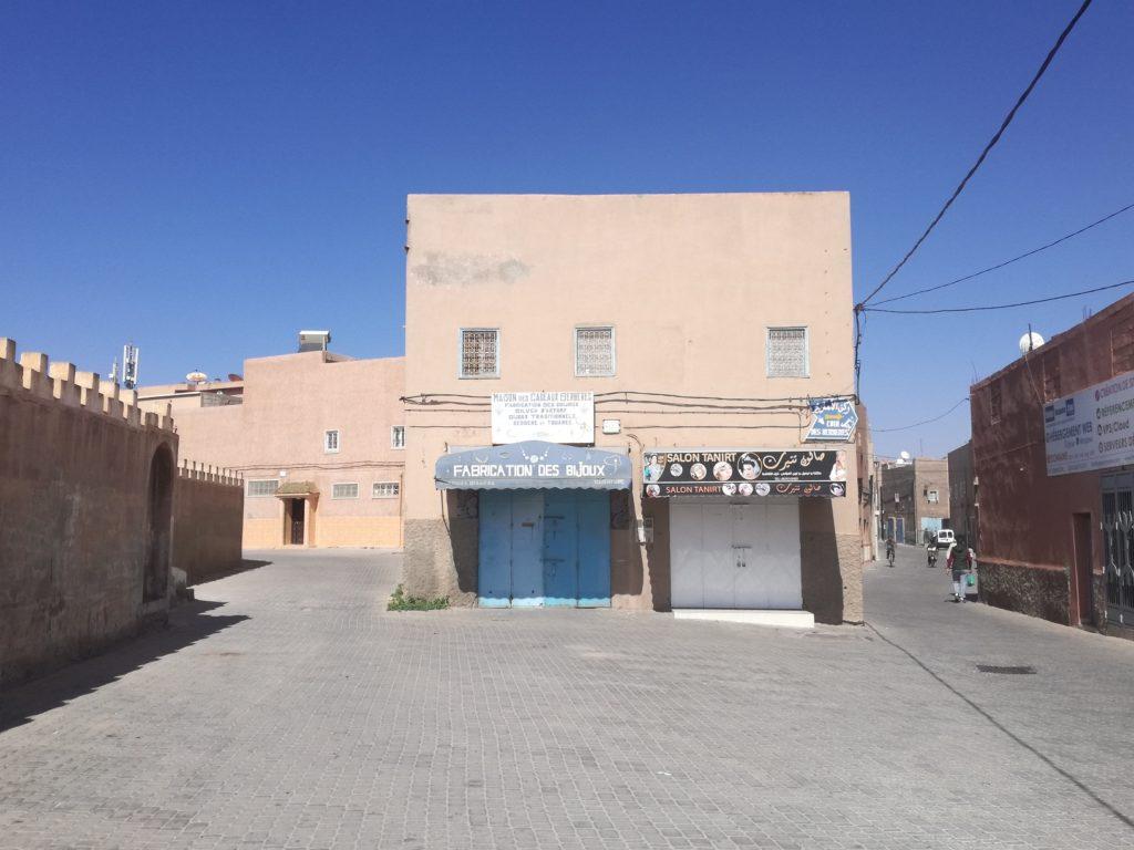 le quartier des bijoux berbere