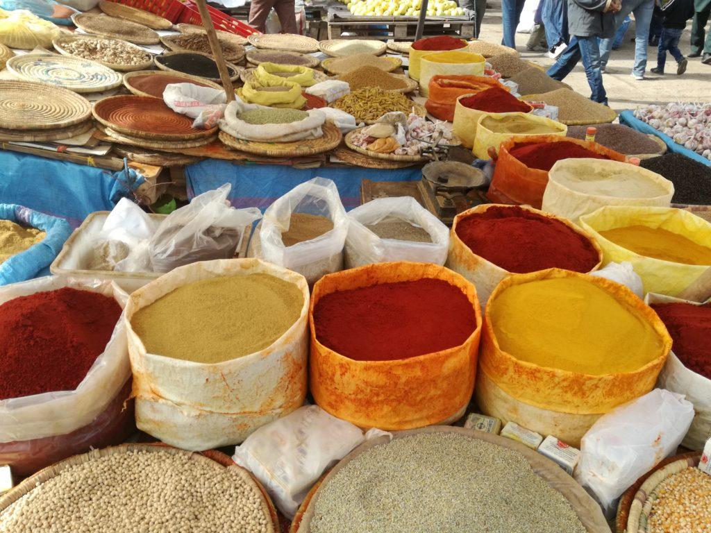 les épices du souk de Taroudant