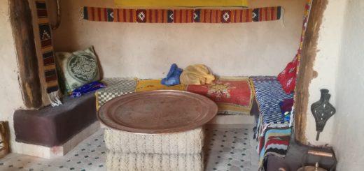 visite d'une maison berbere