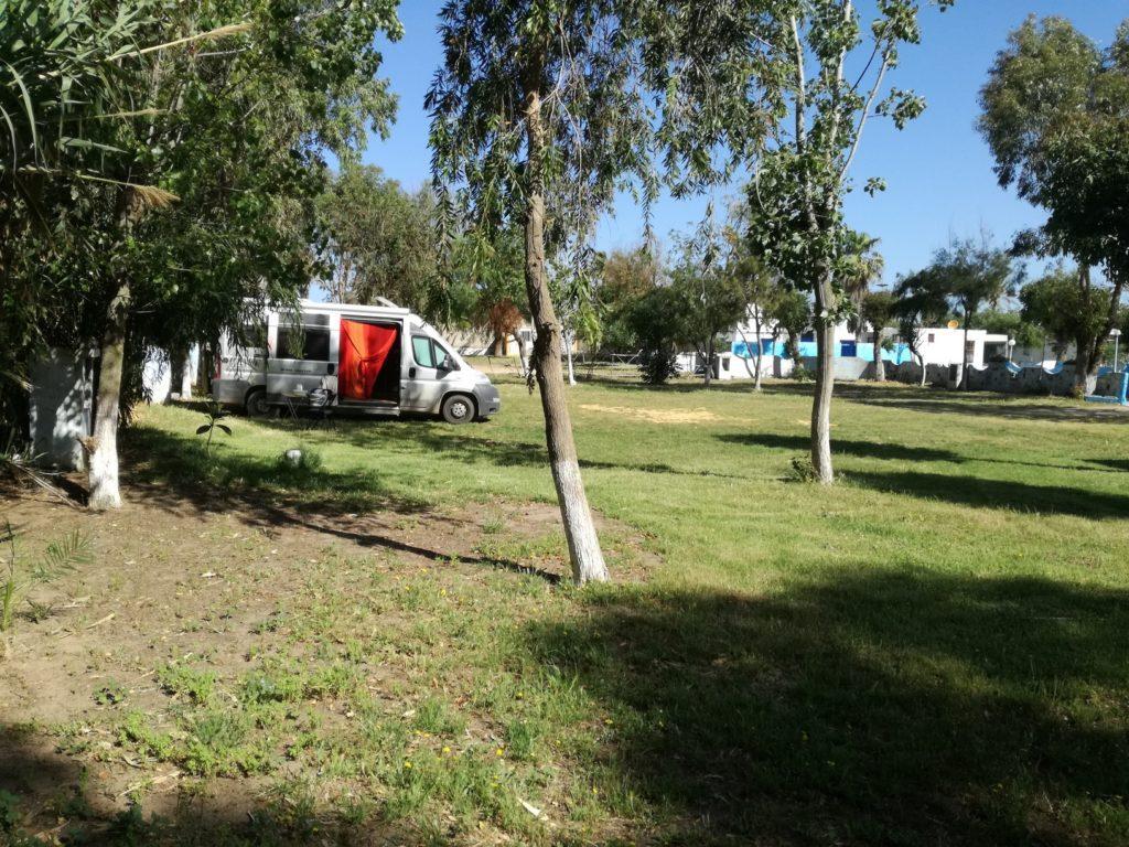 Le camping d' Asilah