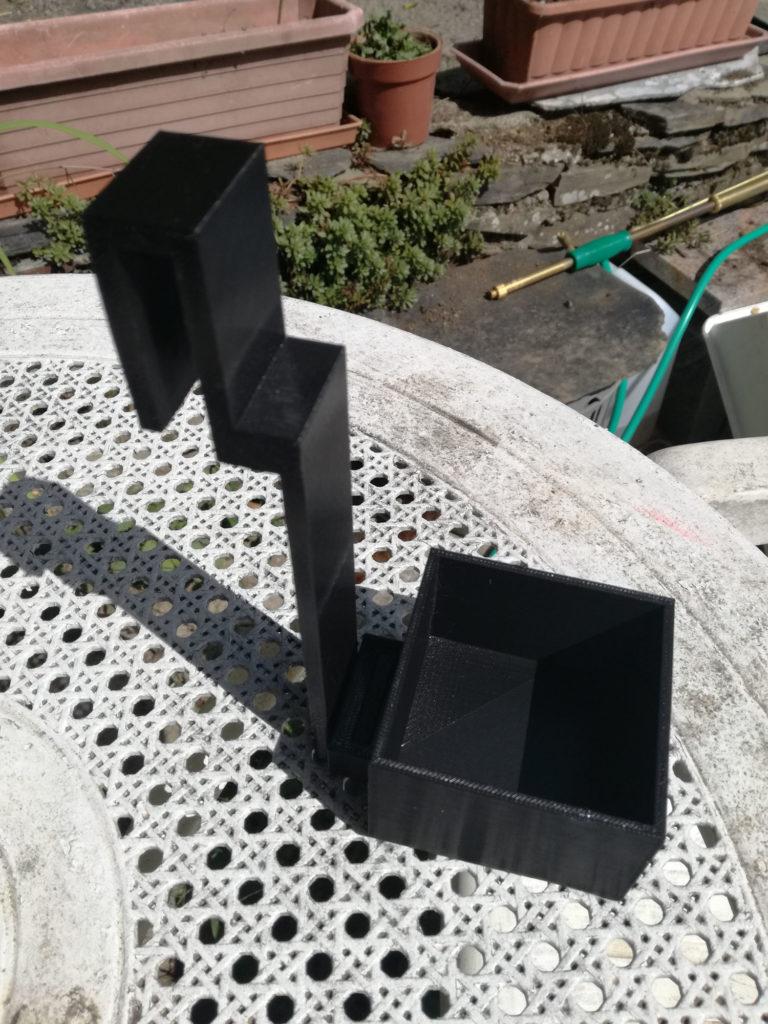 support pots en 3D