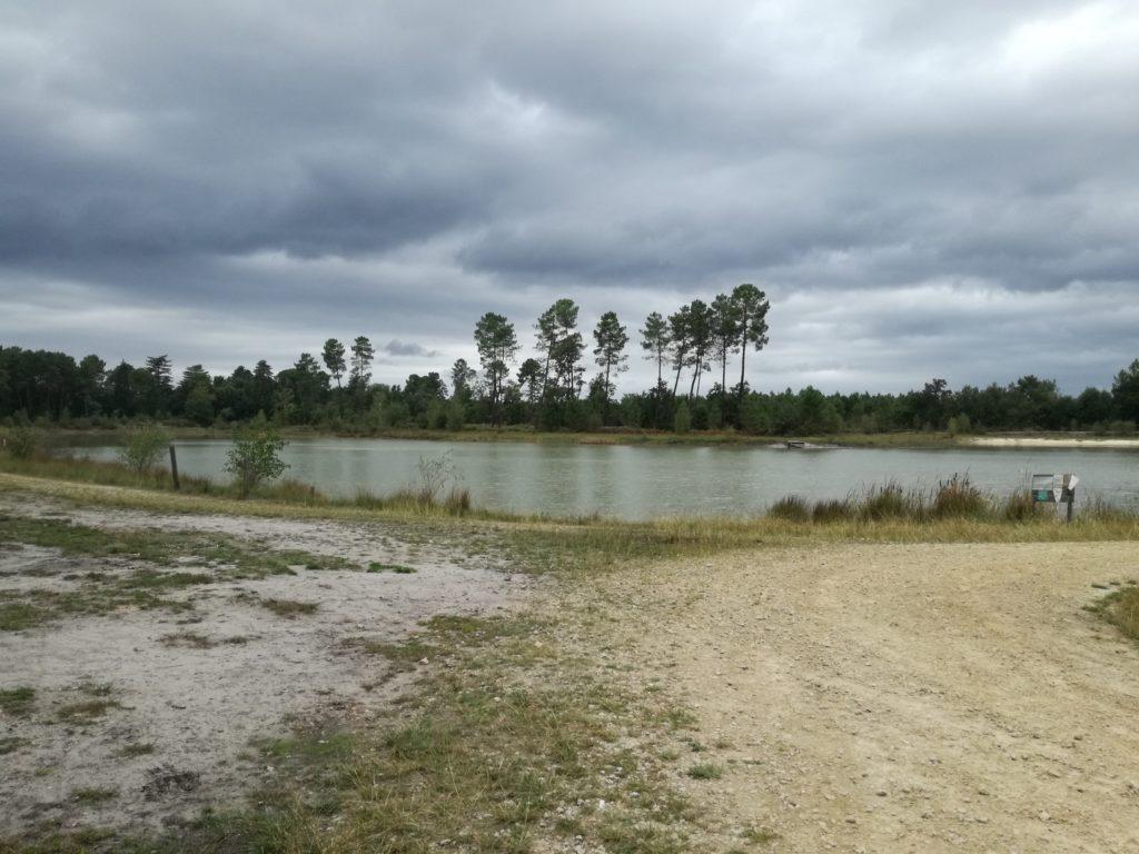 L'étang de Captieux