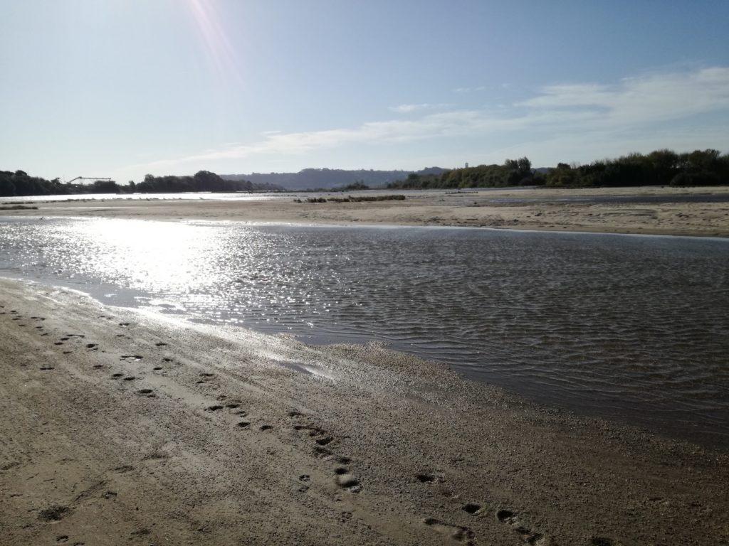 Rio Tejo a Almeirim