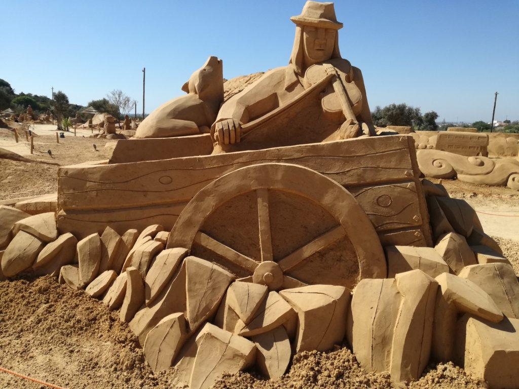 scultures de sable