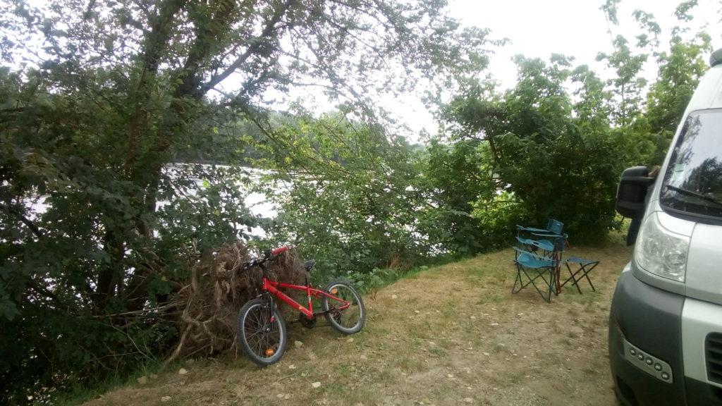 Au bord de la Garonne