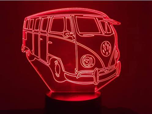 Lampe 3D camping car
